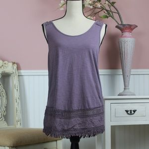 Sonoma Lacy Tank Top Size S